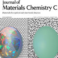 Journal of  Material Chemistry C, Vol. 1(2013) 表紙